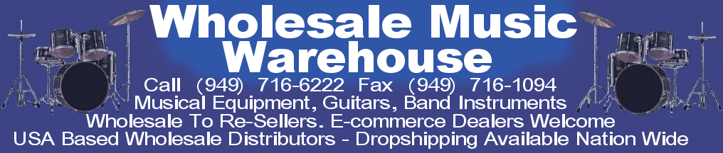 Hook up with the best master wholesale distributors of musical instruments in the U.S.A.