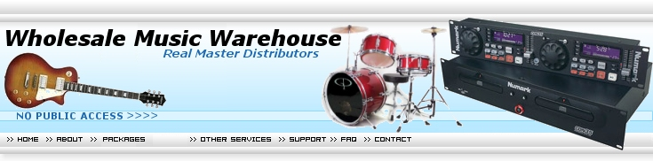 Musical Instruments DropShip: WHOLESALE DISTRIBUTORS